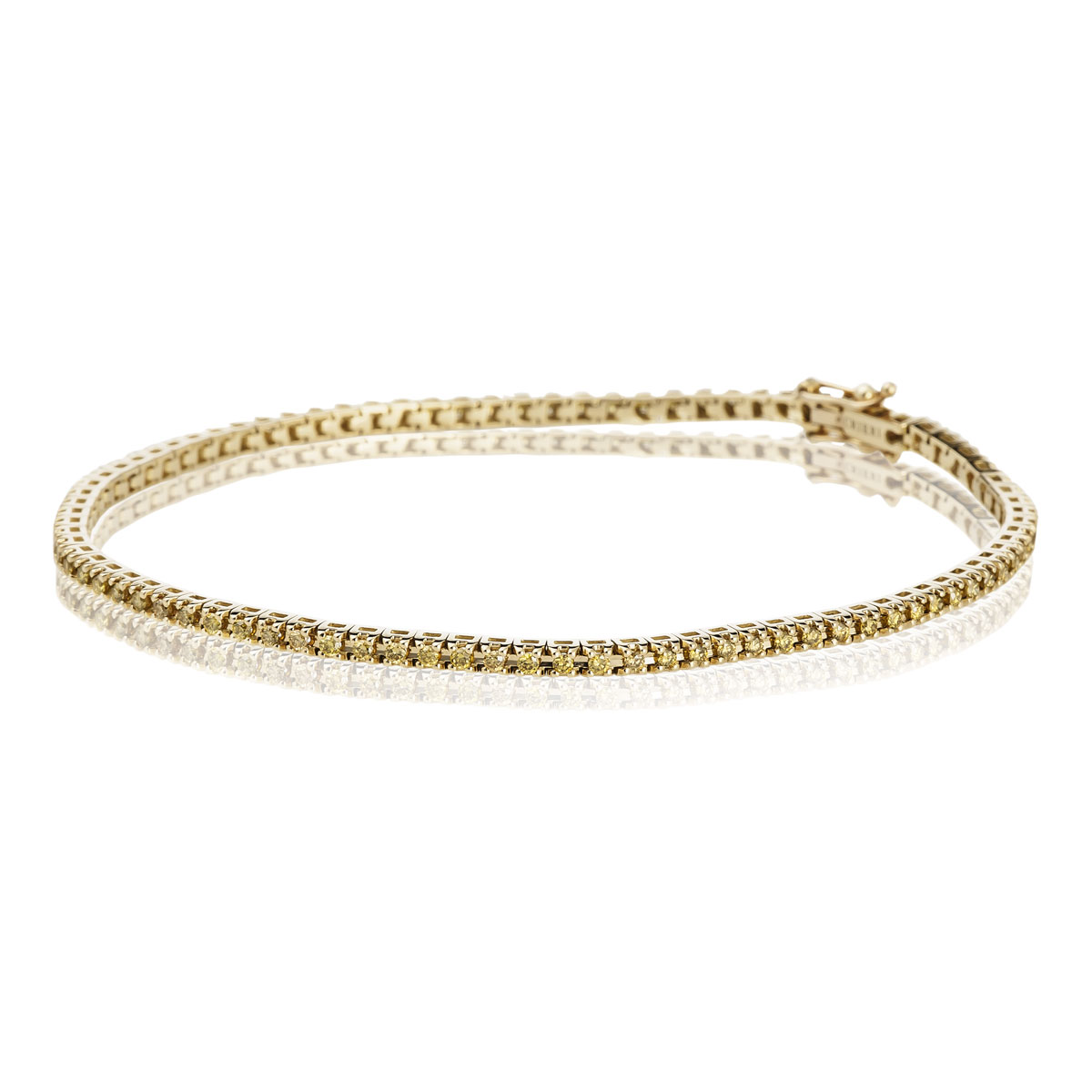pulsera riviere diamantes fancy yellow tarin joyeros