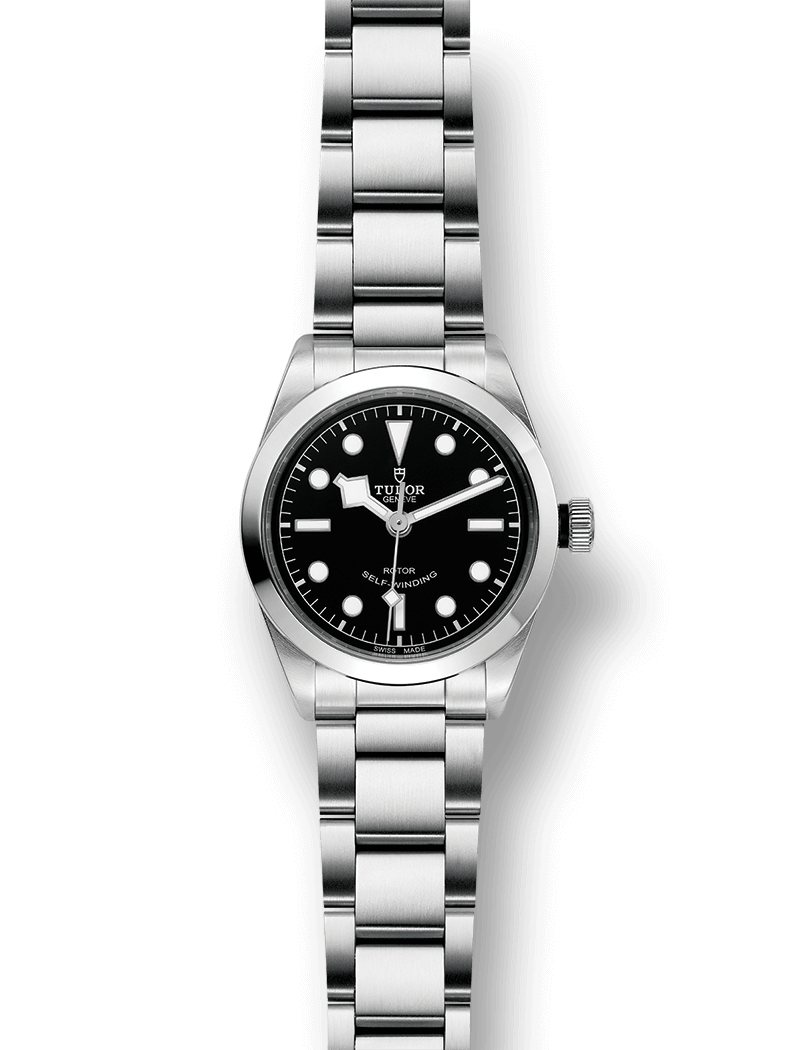 Tudor Black Bay 36 mm brazalete de acero