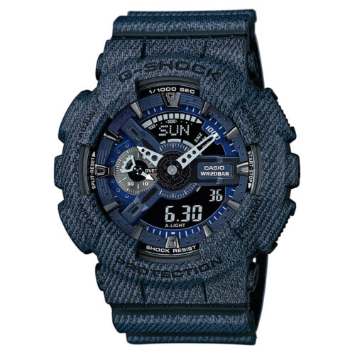 Casio GShock denim